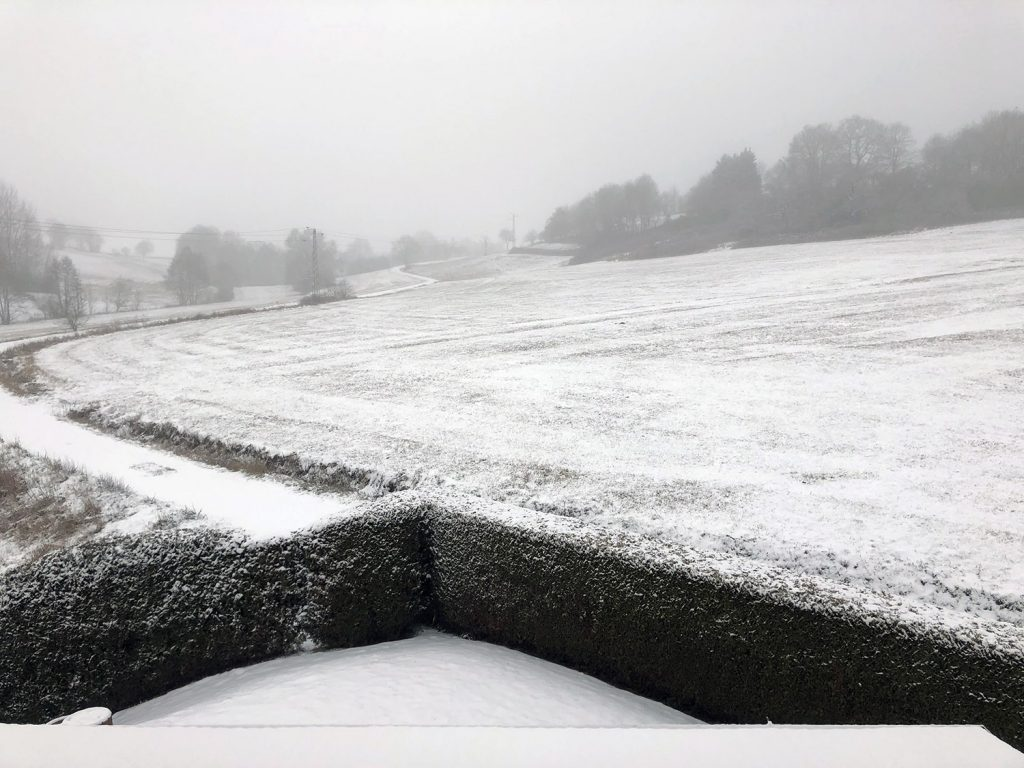 IT SNOWED IN GERMANY