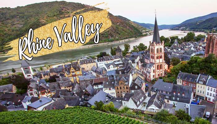rhine valley romantic route germany