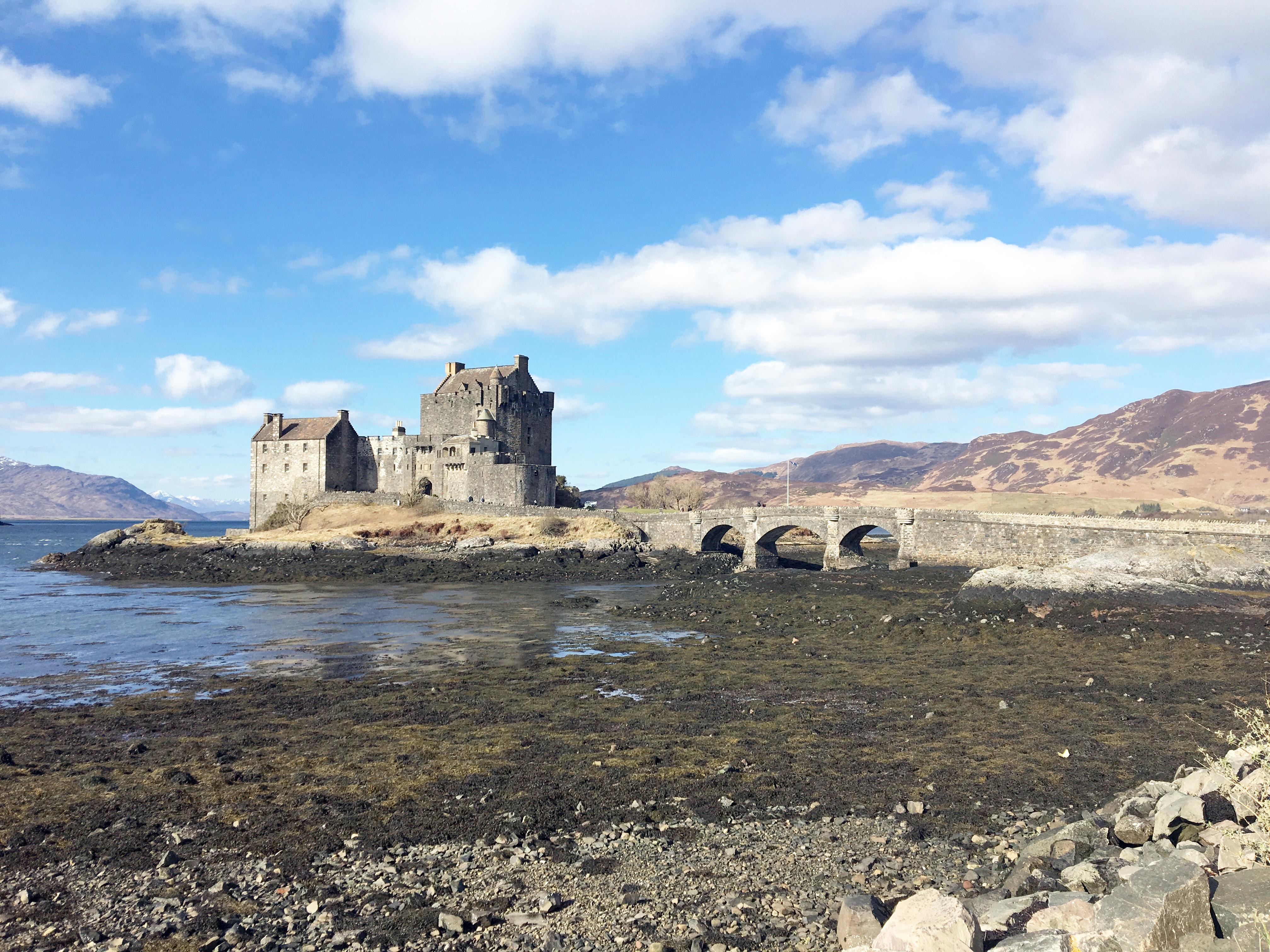 eliean donan castle isle of skye scotland