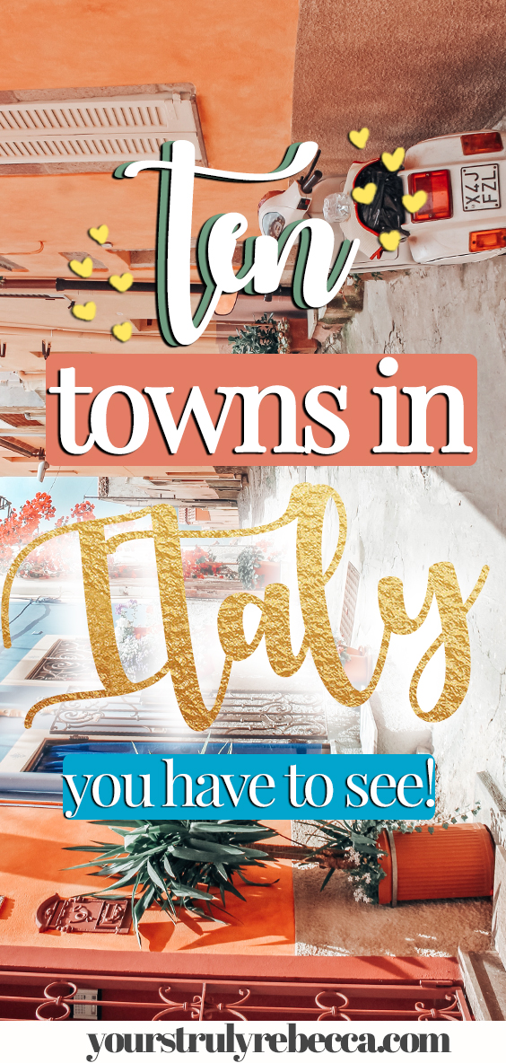 There is more to Italy than it's famous cities. I spent six months studying in Italy and travelling around the country. I have compiled a list of ten quaint towns in Italy you do not want to miss. Check out this blog post for more info. #italy #smalltownsitaly #emiliaromagna #studentravelineurope